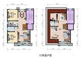 上风上水领地_2室4厅2卫 建面183平米