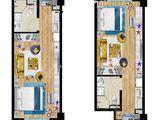 北戴河新区孔雀城_1室1厅1卫 建面46平米