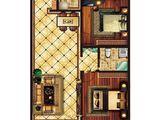 中泽纯境_2室2厅1卫 建面99平米