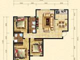 晨煜唐槐园三期_3室2厅2卫 建面138平米