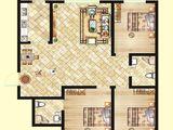 北洋景苑_3室2厅2卫 建面109平米