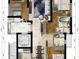 海航万绿园1号_3室2厅2卫 建面154平米