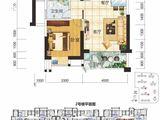 现代美居_1室2厅1卫 建面62平米