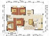 中泰峰境_4室2厅2卫 建面125平米