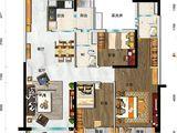 碧桂园太阳城_3室2厅2卫 建面115平米
