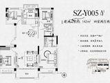 碧桂园西湖_4室2厅2卫 建面142平米