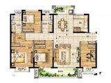 新城玺樾门第_4室2厅2卫 建面143平米