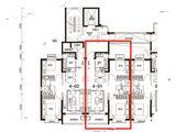 太原恒大金碧天下_2室2厅1卫 建面93平米