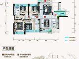 沙湖御景_4室2厅2卫 建面143平米