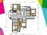 富力新城_4室2厅2卫 建面144平米