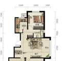 龙TOWN铂悦山_3室2厅1卫 建面104平米